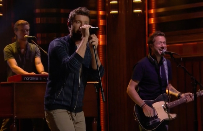 Alex Wright Brett Eldredge Tonight Show Jimmy Fallon
