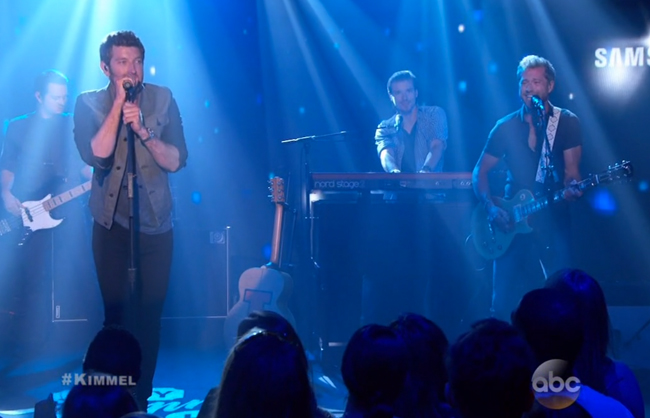 Alex Wright Brett Eldredge Jimmy Kimmel